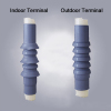 24kV Cold shrinkable Silicon Rubber Cable Terminal