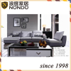 Three-seat sofa with chaise longue right sectional fabrice sofa living room furniture