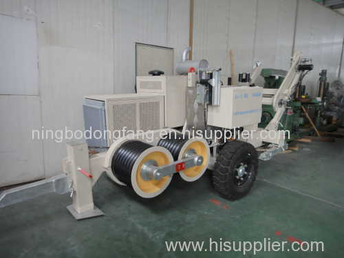 275 KV Transmission Line Stringing Equipments for Two Bundled Conductors