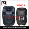 12inch 2 way Professional Stage Plastic Active Speaker PD12 / 12A / 12AU / 12AUF