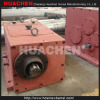 Gearbox reducer heatings and cooling fans for conical twin screw barrel extruder machines