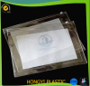 factory make pvc cosmetic zip packing pouch document bag