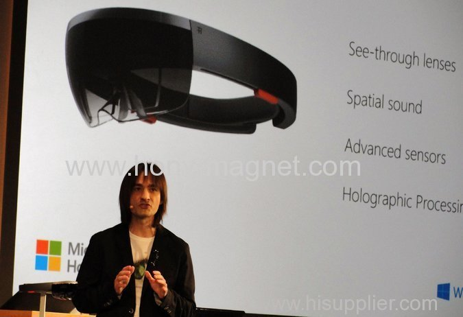 At Windows 10 Event, Microsoft Jumps Into Augmented Reality With HoloLens Headset