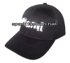 Custom high quality breathable mesh sports cap with 3D embroidery logo