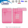 20ml sliding cover card hand sanitizer club promoter