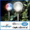 solar glass ball light