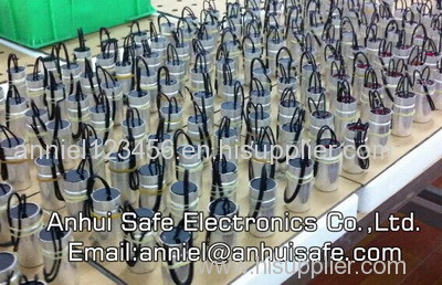 energy efficient lighting capacitor halogen lamp capacitor single phase motor capacitor manufacturer