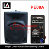 8 inch full range professional Music plastic speaker box with amplifier