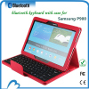 Folding ABS detachable magnetic bluetooth keyboard for Samsung P900