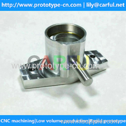CNC low volume machining | CNC aluminum machined parts manufacturing in China with good quality
