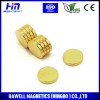 neodymium disc magnet gold coating