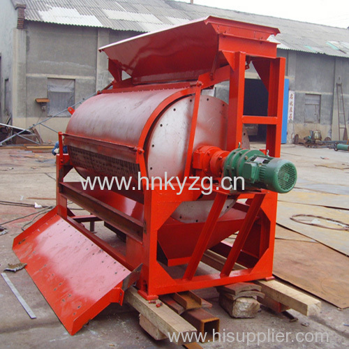 Magnetic separator for processing wet iron ore/ magnetic ore processing plant