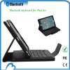Leather case cover with bluetooth keyboard for for ipad5