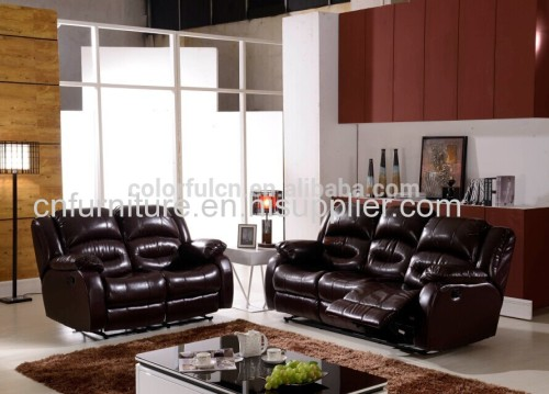 Brown Recliner Sofa/Brown Leather Recliner Sofa/Reclining Corner Sofa