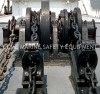 Electric hydraulic marine windlass anchor winch