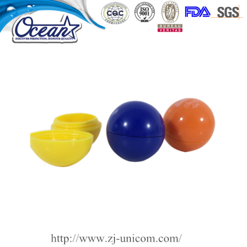 Colorful ball shape eos lip balm promotion marketing