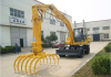 11 ton Wheel type hydraulic stacker