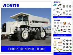 Terex rigid haul truck TR100 parts