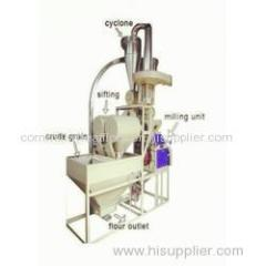 self-feeding roller mill for wheat and maize and other grain flour mill
