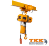 3 Phase Economic Electric Chain Hoist With Moving Trolley Capacity 2000KG