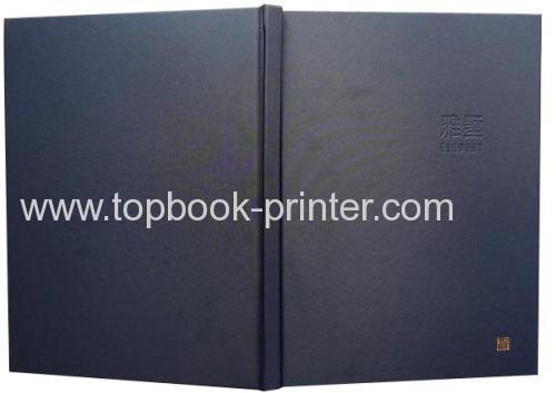 High-quality hot-stamped square-backed hardcover book printer in China