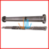 Heterochiral Parallel Twin Screw and Barrel