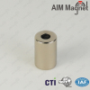 rare earth sintered magnet with centre hole