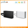Unique Design 5 Port Wall/Desktop USB Charger Power Adapter