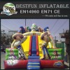 Export to Europe Dual Lane Toy Story Inflatable Slide