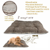 linen fabric pet mats with vintage style
