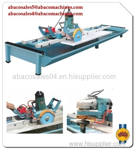 Rail Saw for stone industry - stone cutting machine, slab cutting machine