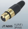 audio connector XLR / male and female