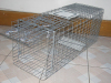 collapsible mouse trap/live animal trap/cat cage trap