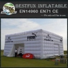 Large inflatable tent building tent with pretty LED