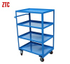 Warehousing logistics hand truck Material handling utility trolley carts
