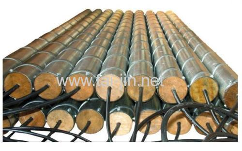 Pre-packaged MMO Titanium Tubular Anodes with Calcined Petroleum Backfill