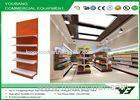 Heavy Duty Retail gondola display , Supermarket Display Shelving 5 layers