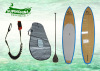 Bamboo Veneer stand up surfboard paddleboard for wave rider surfing