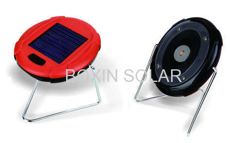 Mini solar reading light