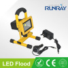 10W Rechargeable LED Floodlight Epistar/Bridgelux chip CRI>80 90-110lm/w