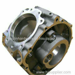 Casting aluminum pump housing