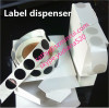 custom printing vinyl sticker label in dispenser