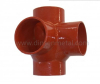 EN877 fittings drainage cast iron Corner branch