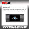 2 din Car dvd gps for BMW E39 E53 M5 (1996-2003) car dvd player with gps navigation auto parts