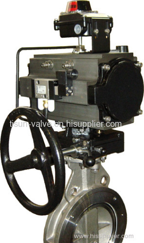 low load butterfly valve