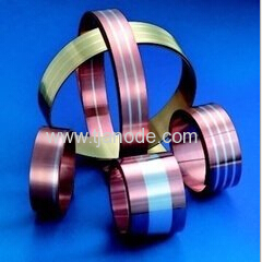 Copper-siliver Strip electrical Bimetal Strip
