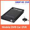 Vehicle mobile DVR 1080p HD H.264 SD card video recorder support GPS