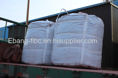 Chemical bulk bags for silica powder