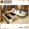 Polyester knitted sofa fabric sofa without armrest