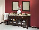 beautifil chinese marble bathroom vanity top glass sink with best price